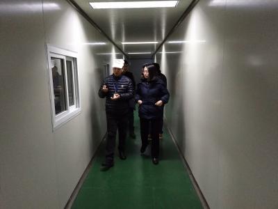 团市委副书记陈茜、朱显璋赴旺旺集团慰问调研